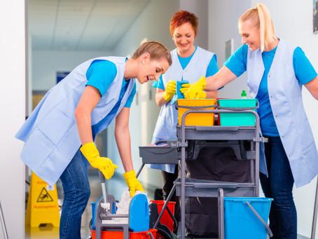 6 Regras de limpeza no trabalho para implementar na empresa