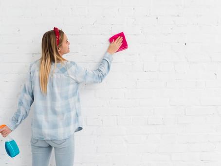 Como limpar papel de parede da forma certa