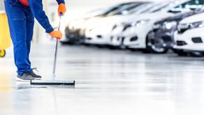 6 Dicas para fazer a limpeza de grandes áreas