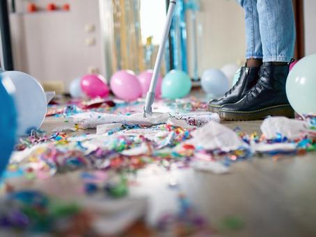 Limpeza de eventos: dicas para deixar tudo brilhando