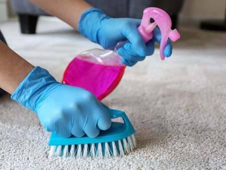 Como limpar tapetes da forma certa?