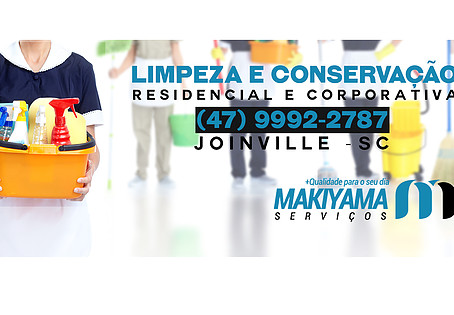 Makiyama: Serviços de Limpeza em Joinville