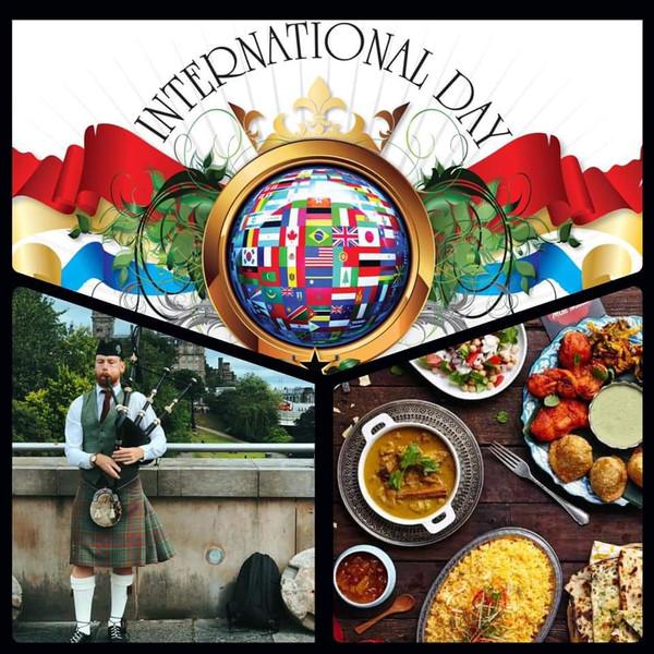 October 10 International Day 4:00pm at Scottish Rites building