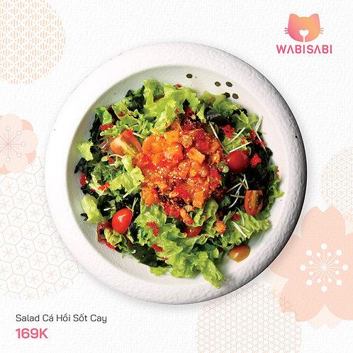 Salad Cá Hồi Sốt Cay