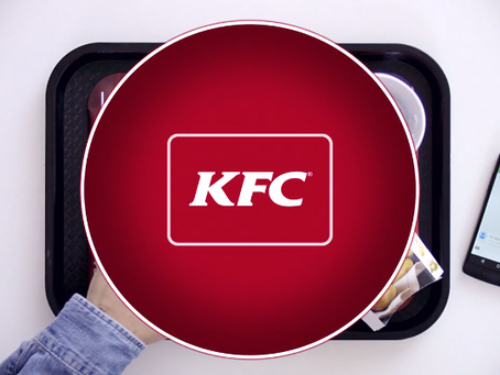 V/O for KFC getting press!