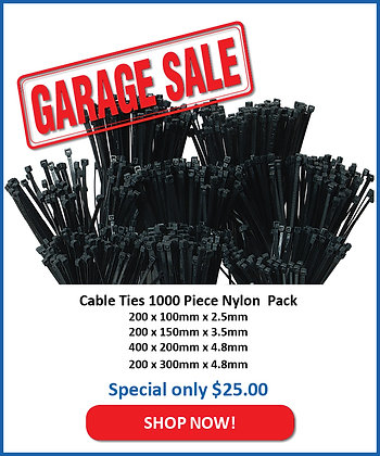 1000pc Cable Tie Pack