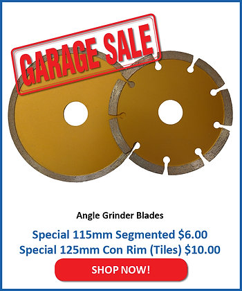 Gold Diamond Blades for Concrete products & Tiles