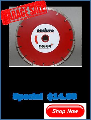 Enduro Red Segmented 125 x 7mm
