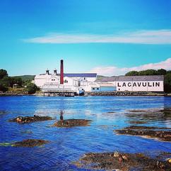 #Lagavulin Distillery.jpg A shot from th