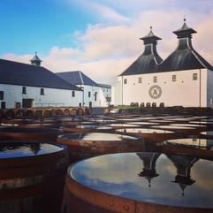 Reflecting on the spirit ❤️ #whiskyislan