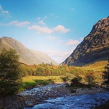 Majestic #GlenCoe in the #autumn #sunshi