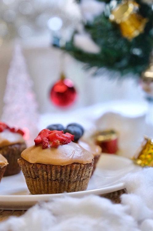 Vegan PB & J cupcakes