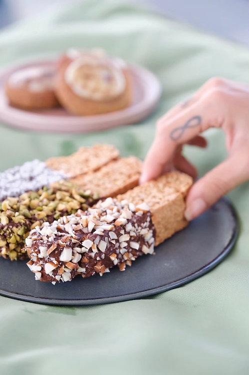 Flourless biscotti