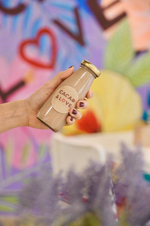 Vegan peanut butter & cacao milk