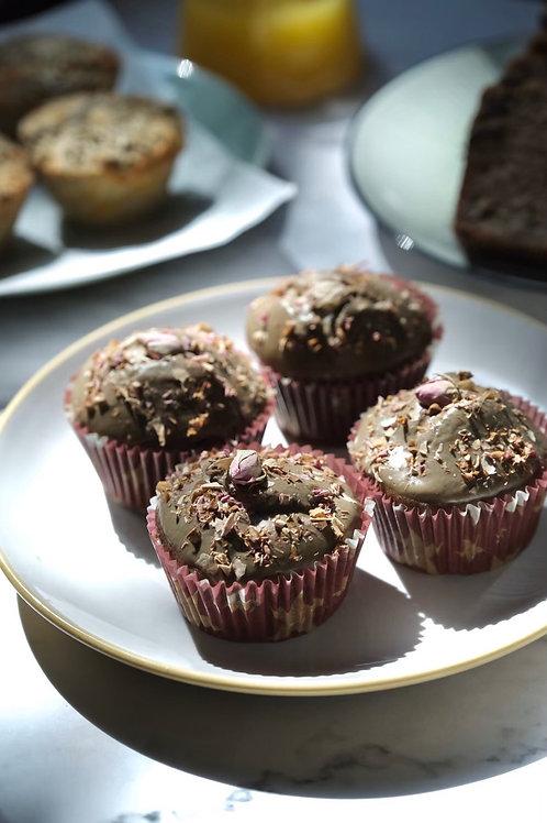 Hojicha Cupcakes