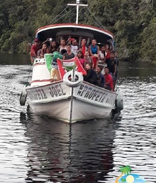 Olimpiadas de Caxiuanã 2018 - Melgaço - Portel - Marajó - Pará - Amazonia - BR - Oficina de Chapéu