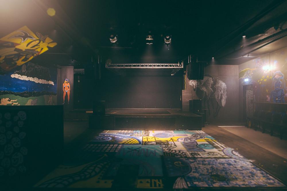 Húrra music venue empty