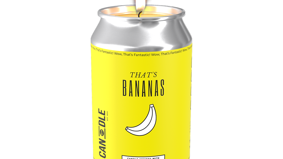 """THAT'S BANANAS"" - BANANA, COCONUT & LILIES"