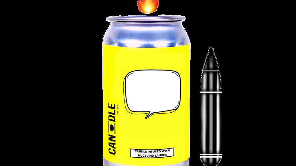 """CREATE YOUR MESSAGE"" - SAGE, CINNAMON & BLACKBERRIES"