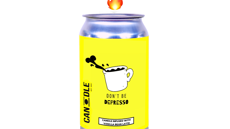 """""""DON'T BE DEPRESSO"""" - COFFEE, VANILLA & CREAM"""