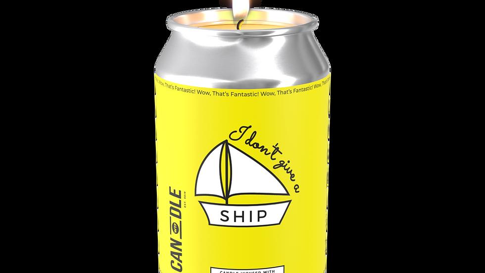 """I DON'T GIVE A SHIP"" - LAVENDER, SANDALWOOD & APRICOT"