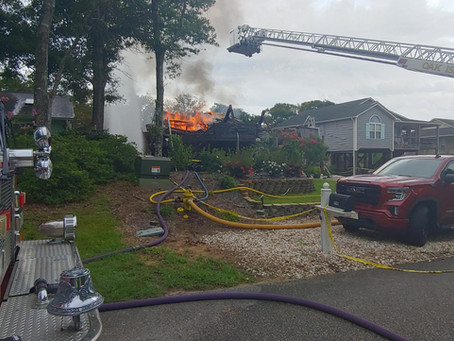 St. James FD assists in house fire