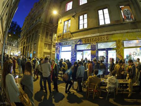 """Résidence / Exposition """"Paroles en friche"""" @ La Taverne Gutenberg / Lyon"""