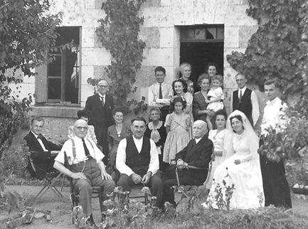 8 mariage  Edouard Guiller Tours 1947 -