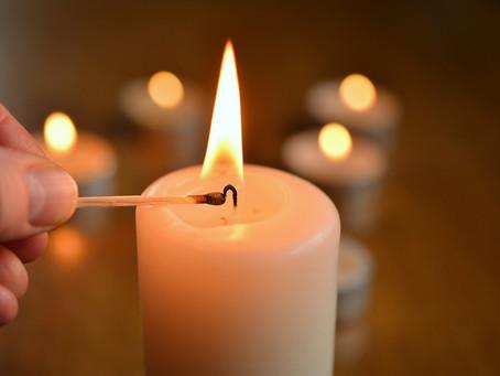 Podstatné nie je miesto, kde zapálime sviečku