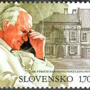 San Giovanni Paolo II è cittadino onorario della capitale slovacca Bratislava