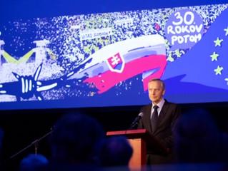 Ján Figeľ: Jubileum Novembra '89 je pozvaním k zrelosti našej slobody