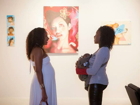 Images from the Divergent Expression popup show Curated by Nate Dee