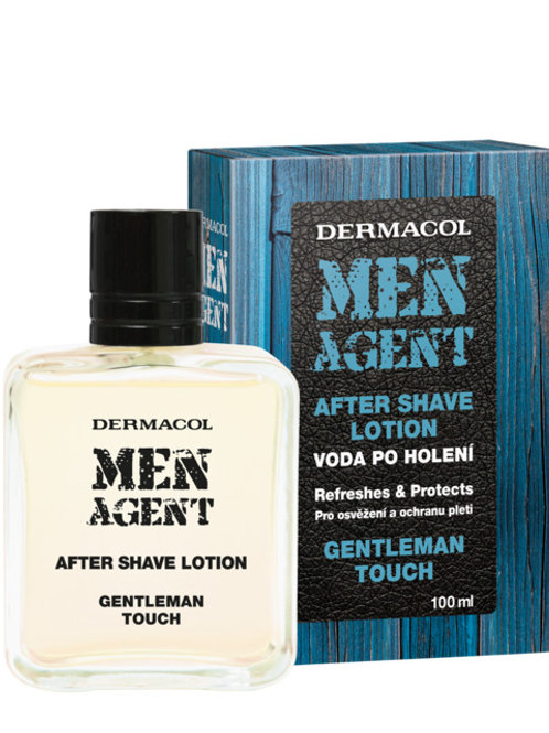 Лосьон после бритья Men agent gentleman touch