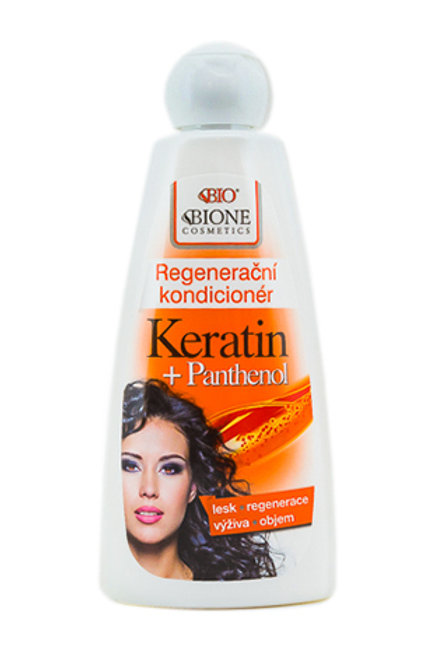 Регенерирующий кондиционер для волос Кератин + Пантенол