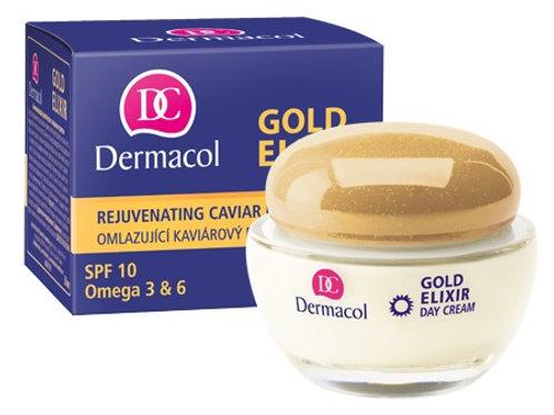 Дневной крем с экстрактом икры Gold elixir
