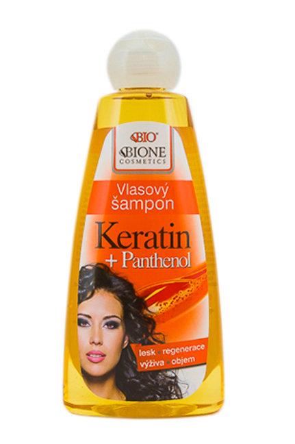 Шампунь для волос Пантенол + Кератин