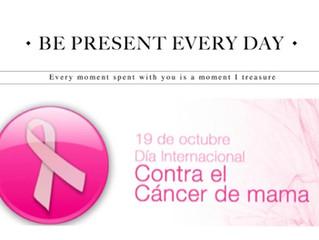 Dia contra el cancer de mama...un nuevo amanecer, un paso hacia adelante...             ...dia a dia