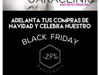 BLACK FRIDAY.         -25% descuento