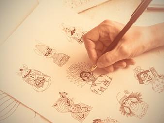 Acabe com as férias do seu estojo e faça caricaturas!