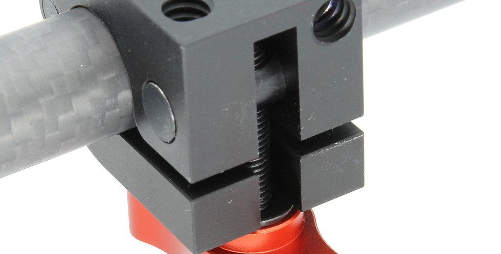Heavy Duty 15mm Quick Release mount with up to 12 lb load capability
