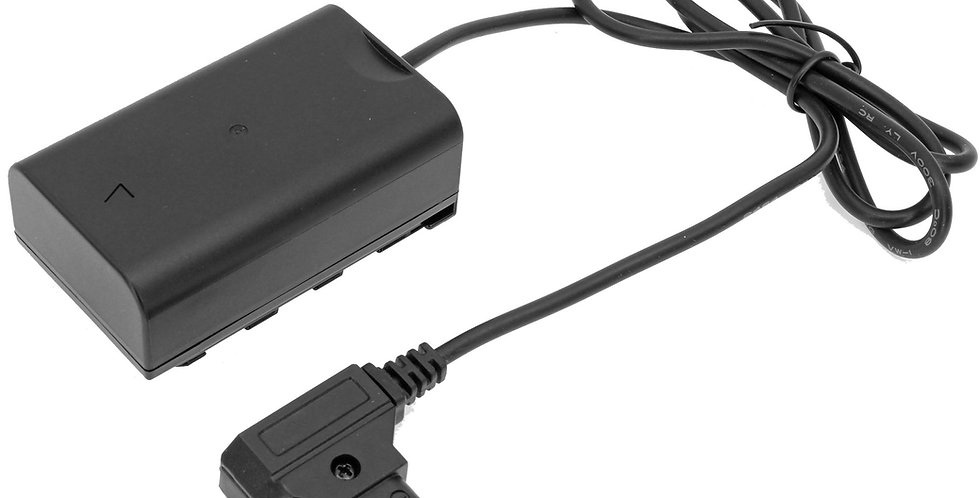 """D-TAP TO PANASONIC AG-VBR59 DUMMY BATTERY 30"""" ADAPTER Cable"""