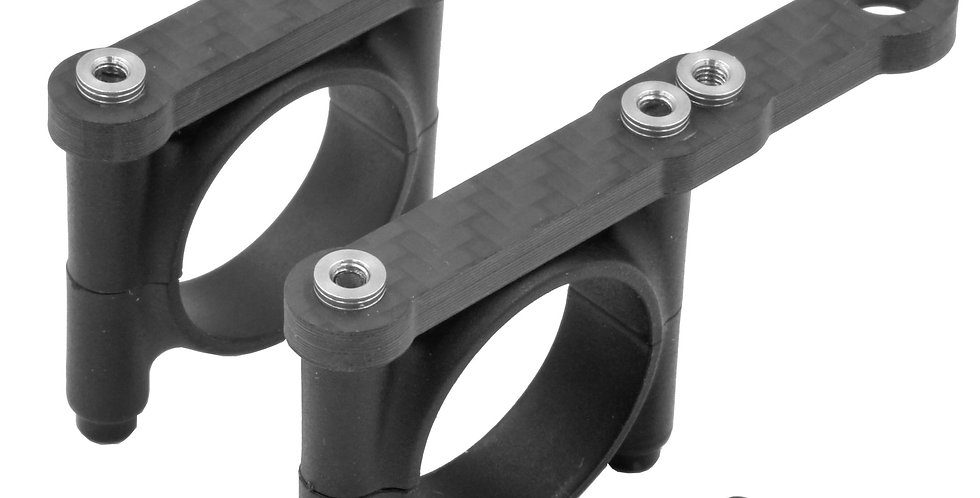 2 X SINGLE CARBON FIBER PLATES FOR MOUNTING MONITORS FOR RONIN-M/MX, MOVI