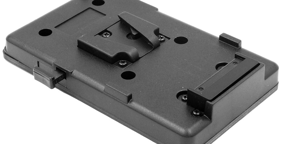 "V-MOUNT BATTERY PLATE with 1/4""-20 MOUNTING OPTION"
