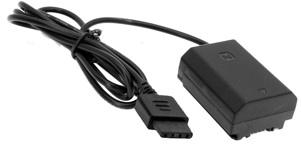 "DJI RONIN-S DC TO SONY NP-FZ100 BATTERY "" ADAPTER CABLE"