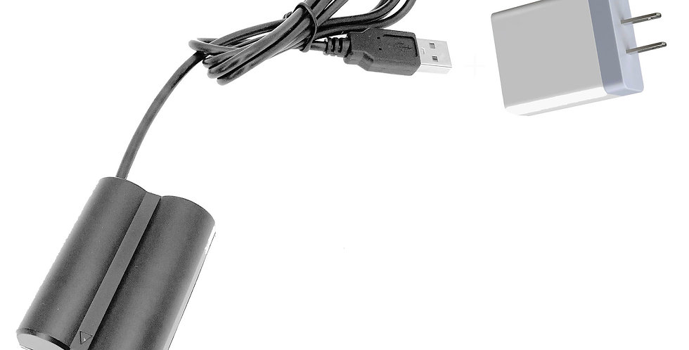 "USB TO FUJIFILM (NP-W235) BATTERY 40"" ADAPTER CABLE W/ 3.1 AMP USB POWER SUPPLY"