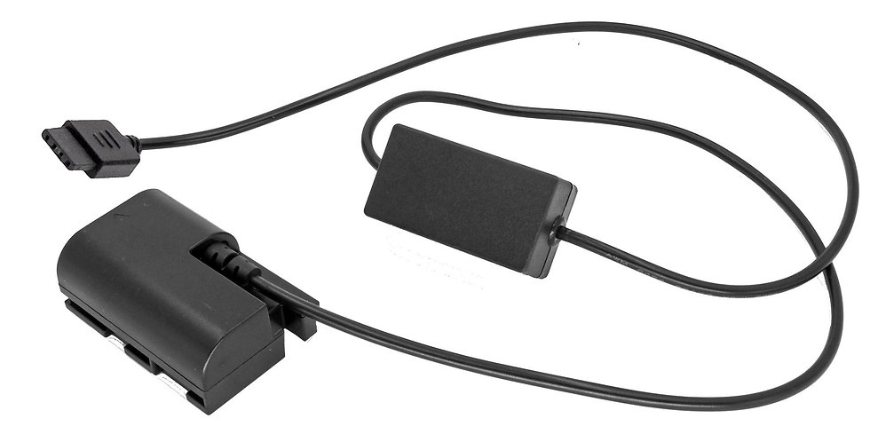 DJI RONIN-S DC TO CANON LP-E6 BATTERY  ADAPTER CABLE