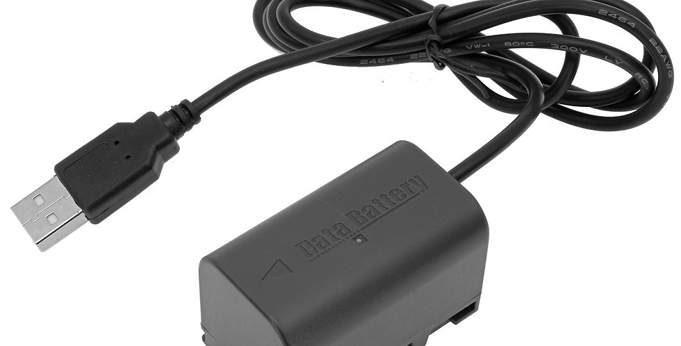 USB TO JVC BN-VF823 DUMMY BATTERY ADAPTER CABLE