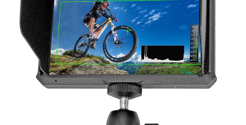 """Ultra Lightwight Hi-Res 4K 5"""" HDMI Monitor with Battery Kit"""