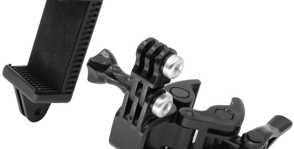 Universal Clamp Mounting kit for GoPro and Smart Phones