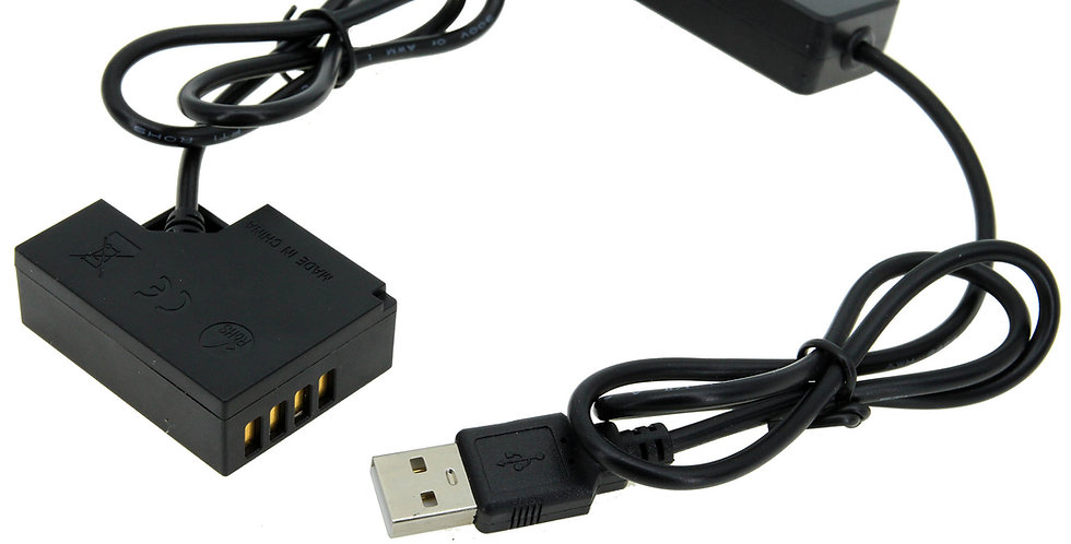 "USB TO FUJIFILM (NP-W126S) BATTERY 40"" ADAPTER CABLE"